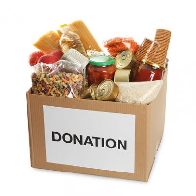 Full donation box
